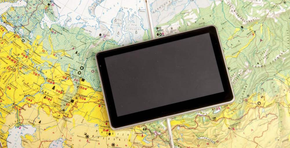 Navigation System And Road Map