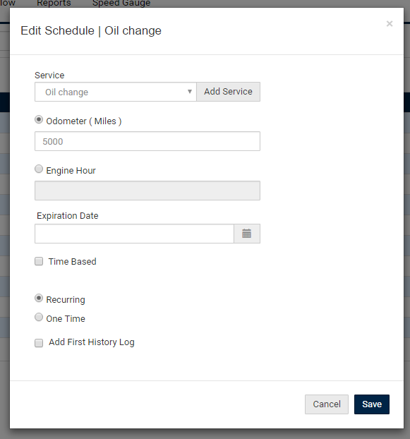 Schedule Maintenance Tasks